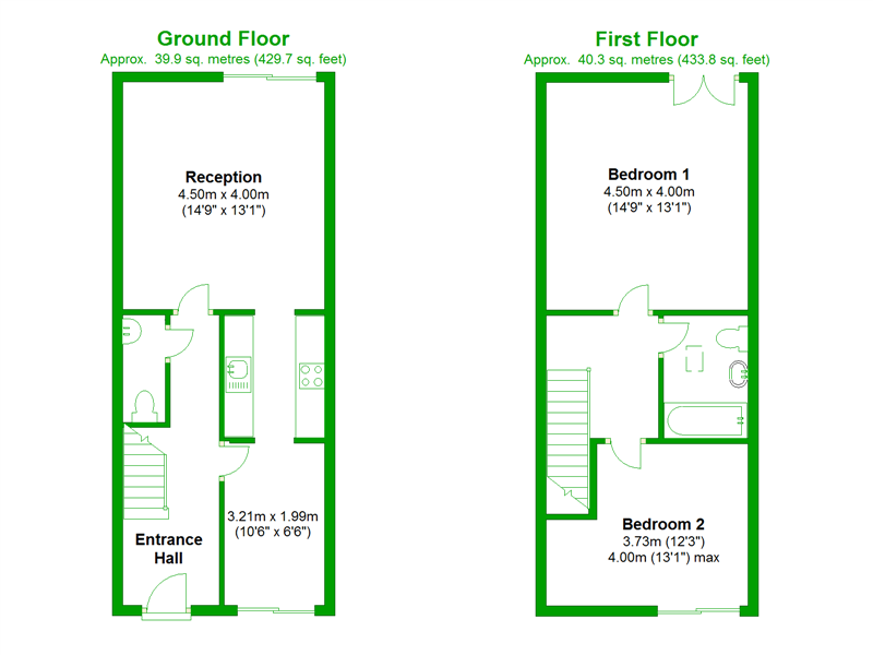 Floorplan of Wingfield Mews, London, SE15 4LD