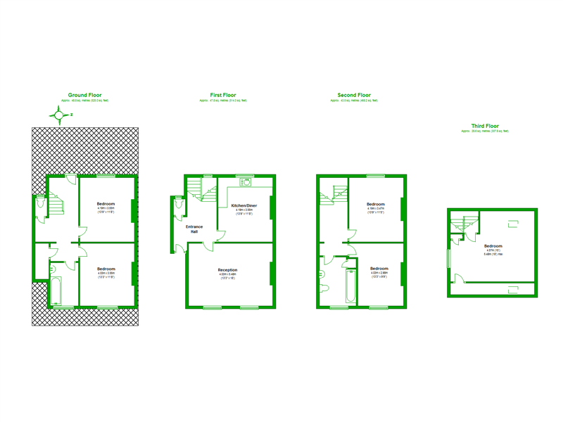 Floorplan of Asylum Road, London, SE15 2LW