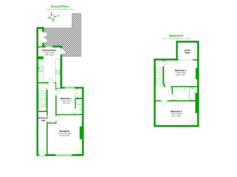 Floorplan of Friary Road, London, SE15 1PX