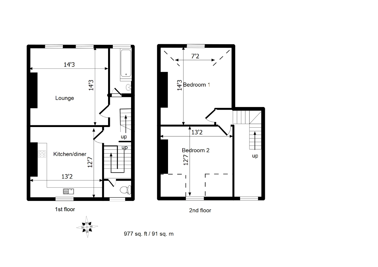 Floorplan of Montpelier Road, London, SE15 2HB