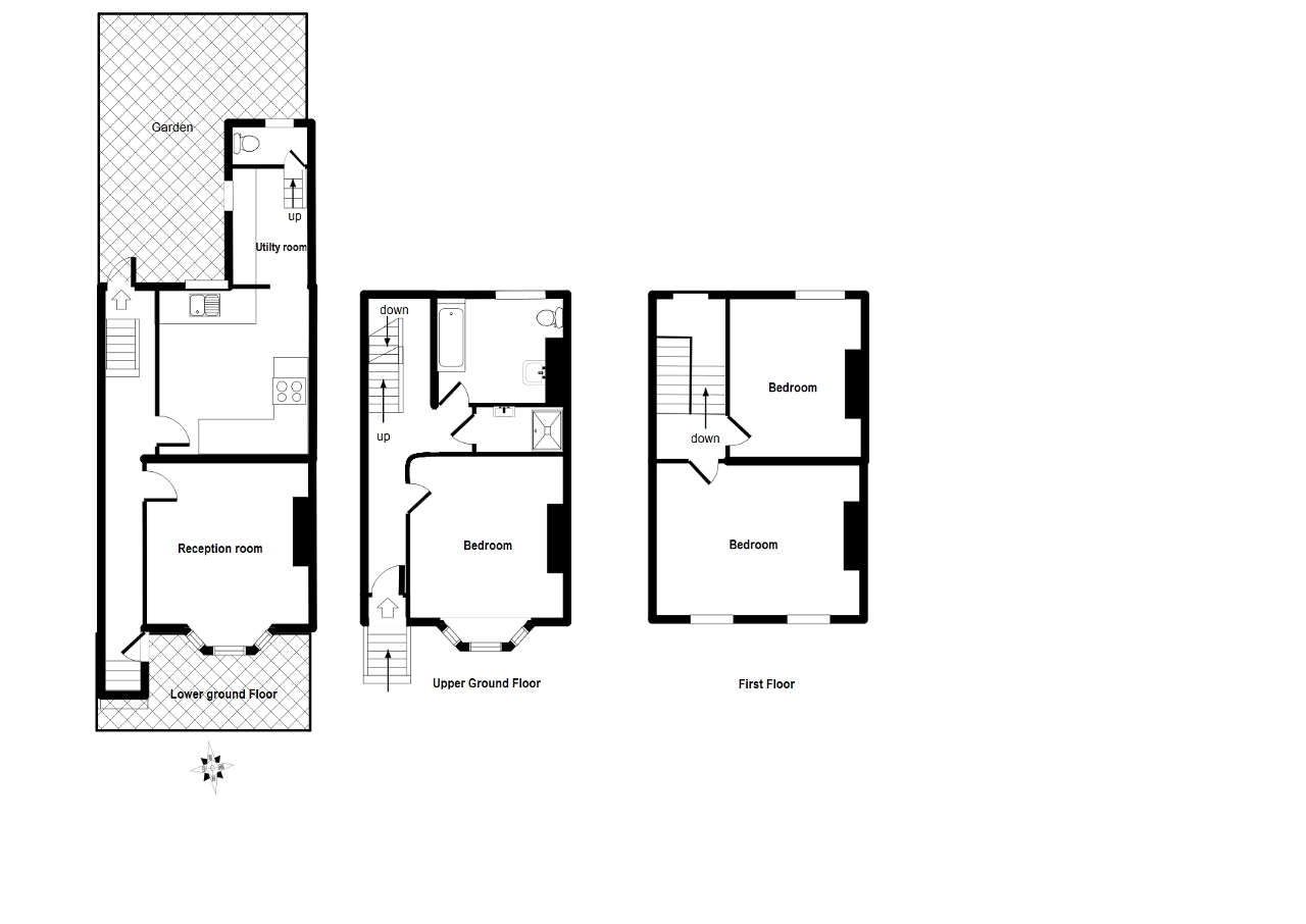Floorplan of Choumert Road, London, SE15 4AP